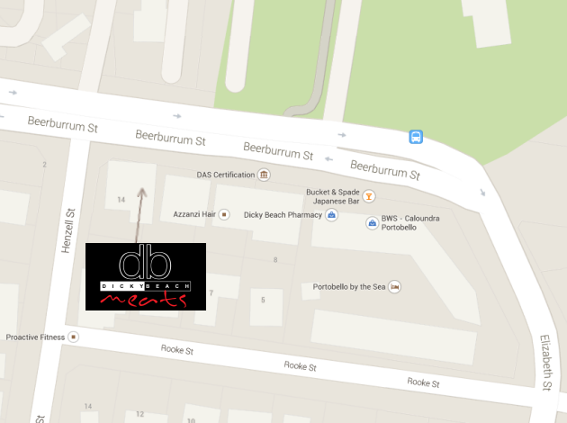 db meats location map